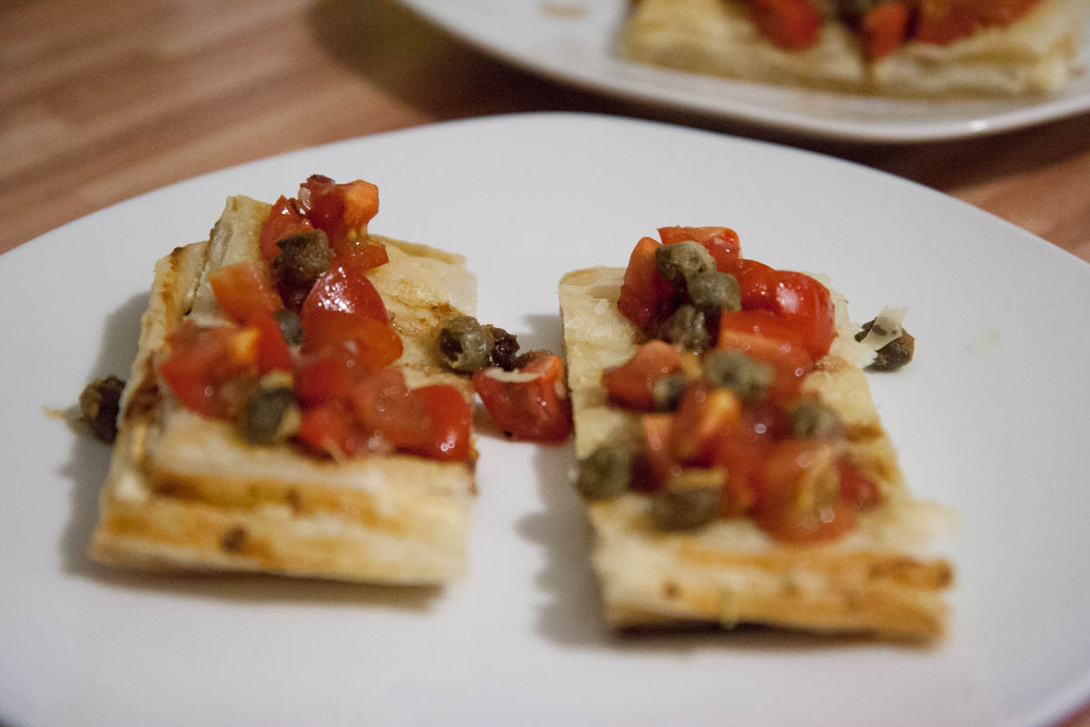Gefüllter Blätterteig mit Tomaten-Salsa aus Greenbook von Tim Mälzer