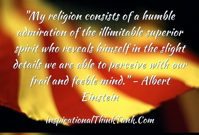 consists of a humble admiration of the illimitable superior spirit ...