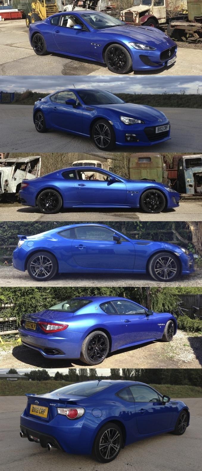 Subaru BRZ Maserati GranTurismo