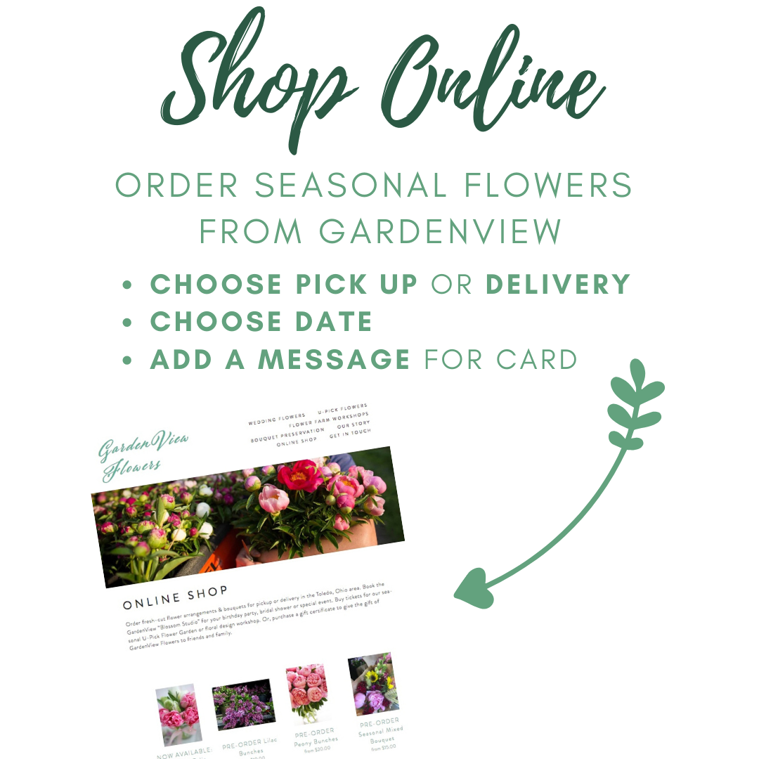SHOP ONLINE FOR FLOWERS