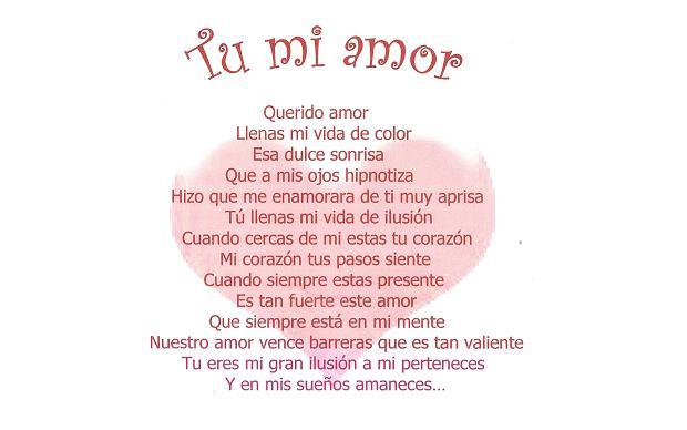 Poemas De Amor Para