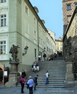 Town Hall Stairs Prague