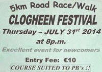5k race in SW Tipperary