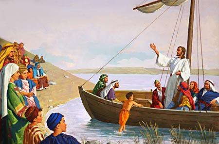 COV ZAJ NYEEM NIAJ HNUB HAUV NRUAB LIS PIAM  2014-15 - Page 2 RH-JesusTeachingFromBoat_01