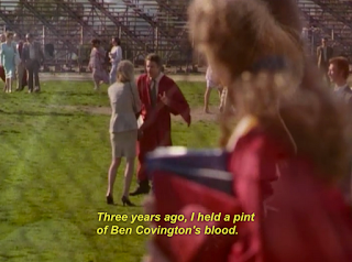 """Three years ago, I held a pint of Ben Covington's blood."""