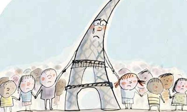 turnul eiffel paris atac terorist copii