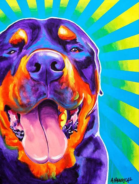 cuadros-al-oleo-con-perros