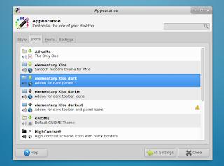 Xfce 4.12