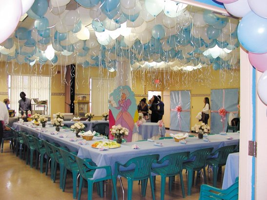 Cheap party decoration ideas dream house experience for Room decor ideas for birthday
