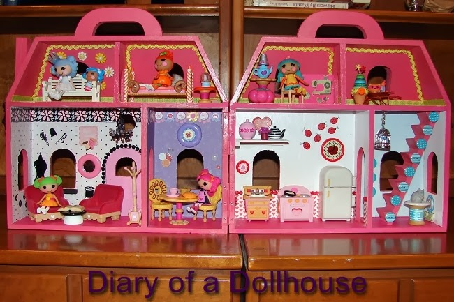 Custom Mini Lalaloopsy Dollhouse