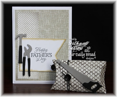 Our Daily Bread Designs Stamp sets: Good Man, ODBD Vintage Ephemera Paper Collection, ODBD Custom Dies: Workshop Tools