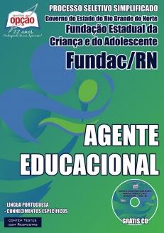 Novo Concurso FUNDAC / RN AGENTE EDUCACIONAL 2015