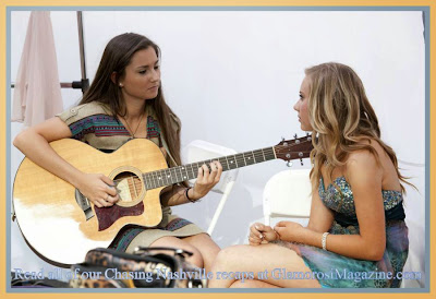 Julia Knight and Lauren Marie Presley, stars of Chasing Nashville on Lifetime