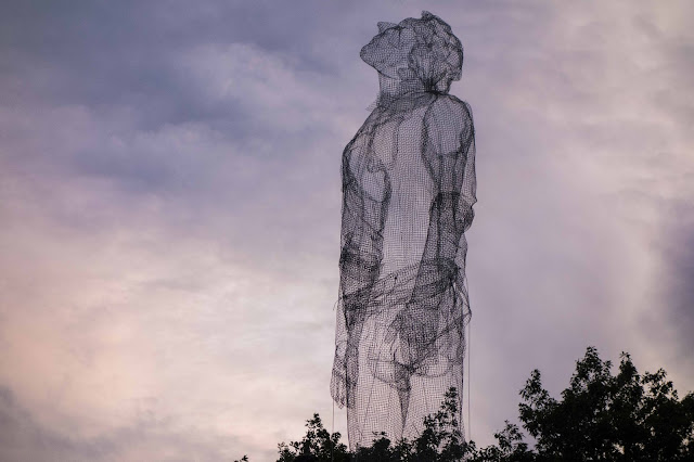 Edoardo Tresoldi was recently invited to participate in the excellent Roskilde Festival which took place in Denmark.