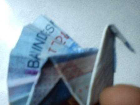 Gambar origami uang kertas 6600