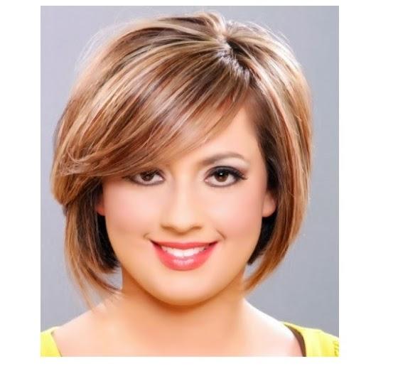 Model Rambut Wanita Gemuk  METROPOLIS STYLE