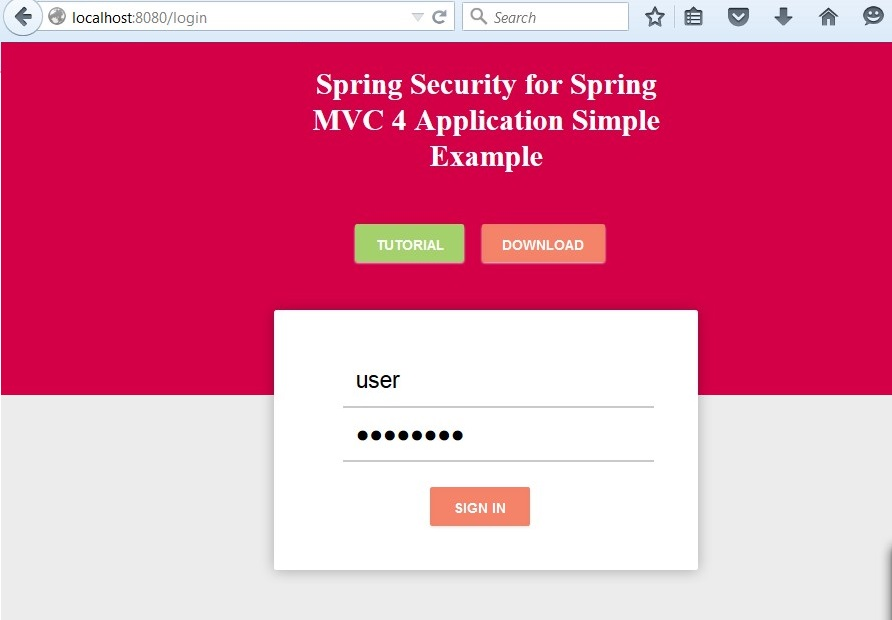 Spring Security in MVC 4 Using Spring Boot - DZone Java