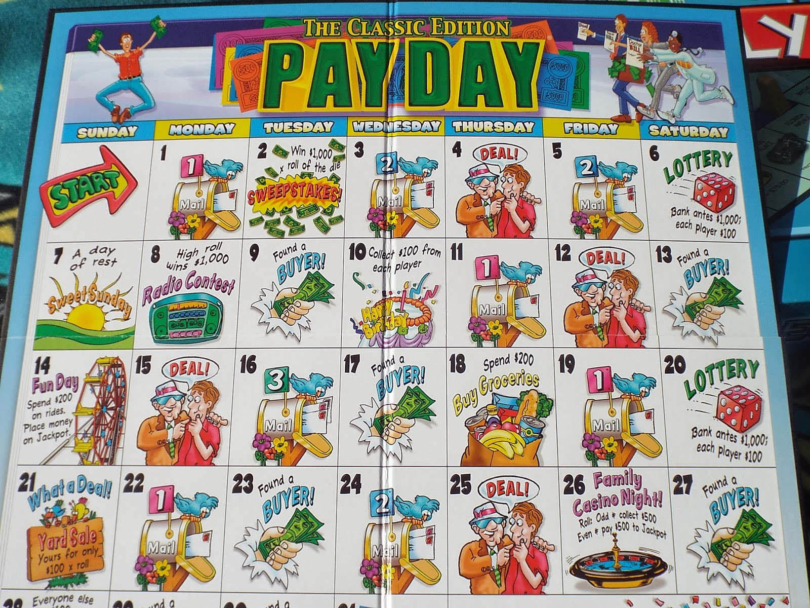 PayDay Game Board!