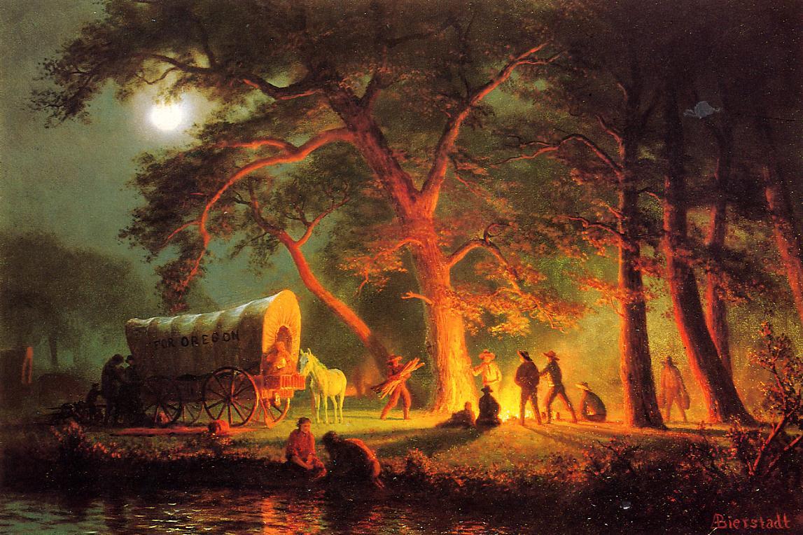 19th Century American Paintings Albert Bierstadt Ctd