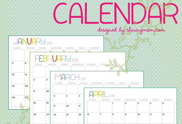 Year Calendar Officeworks : Justfordaisy free printable calendars for