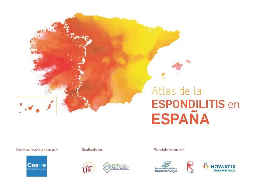 ATLAS DE LA ESPONDILITIS EN ESPAÑA 2017