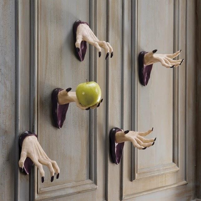 10 Maneras de Decorar tu Puerta para Halloween