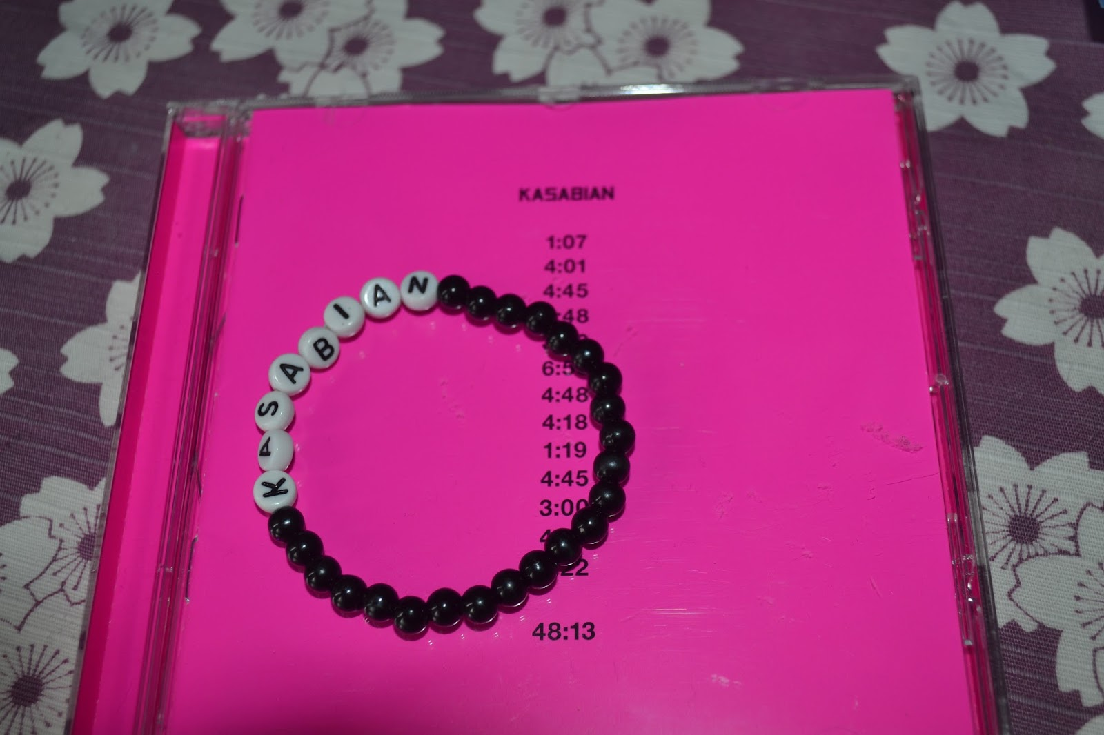 Kasabian 48:13 and Kasabian bracelet