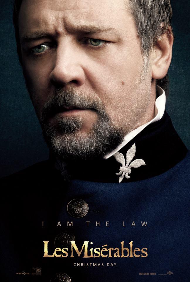 Les Misérables Poster (2012)