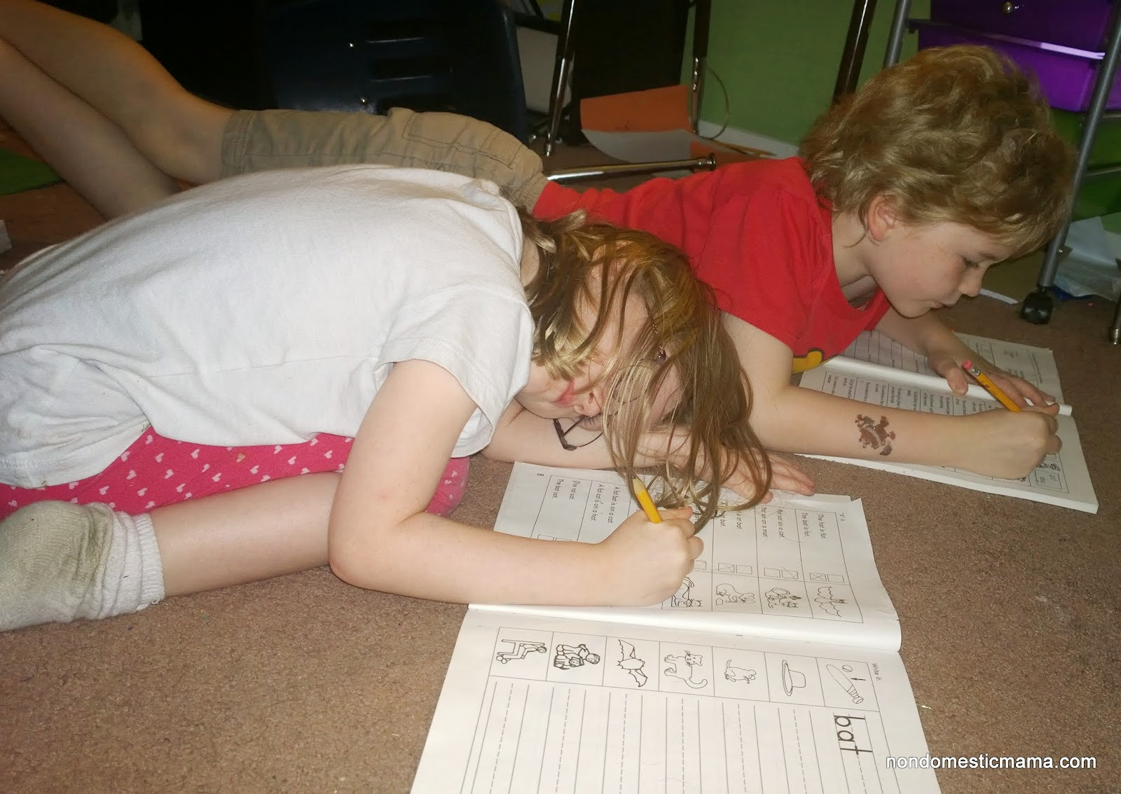 Homeschooling - On a Good Day
