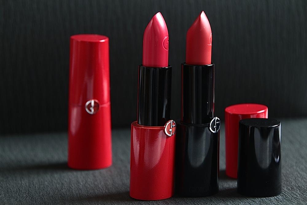 armani rouge à lèvres ecstasy bb rouge test avis