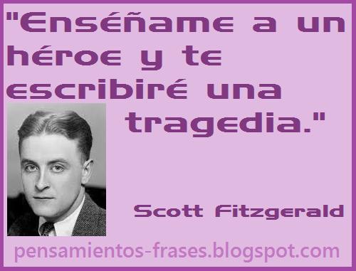 frases de Scott Fitzgerald