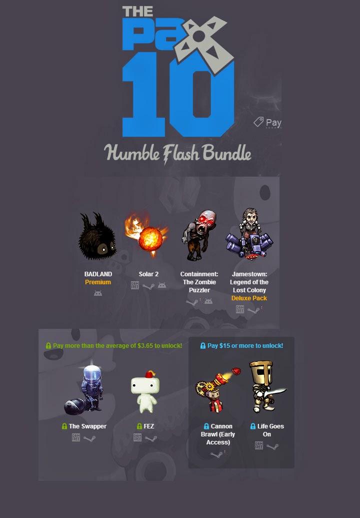 Pack de juegos para Android y PC