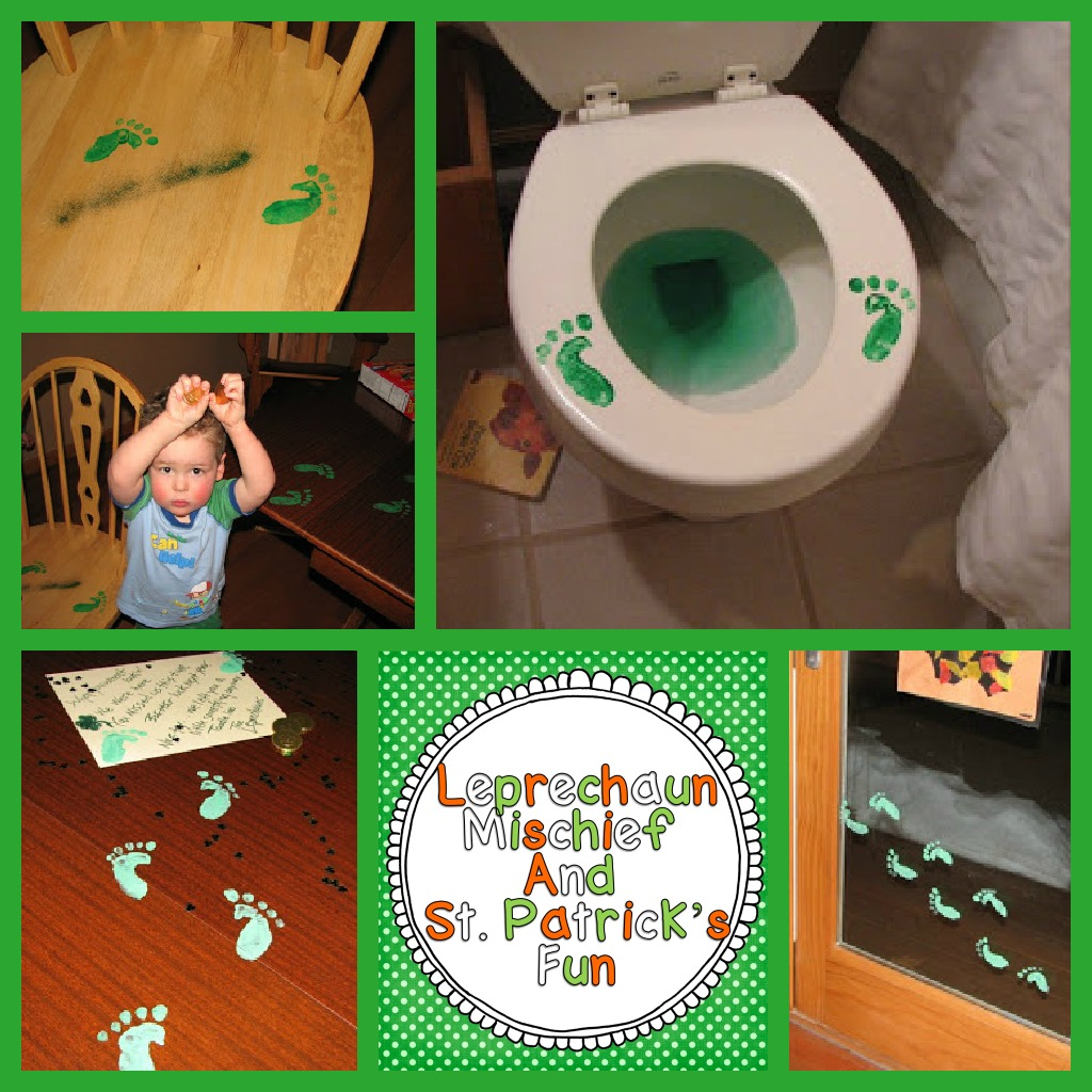 Leprechaun Classroom Visit Ideas ~ Leprechaun mischief and a little freebie