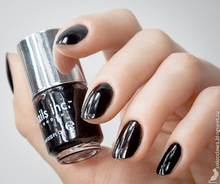 Nails Inc Black Taxi