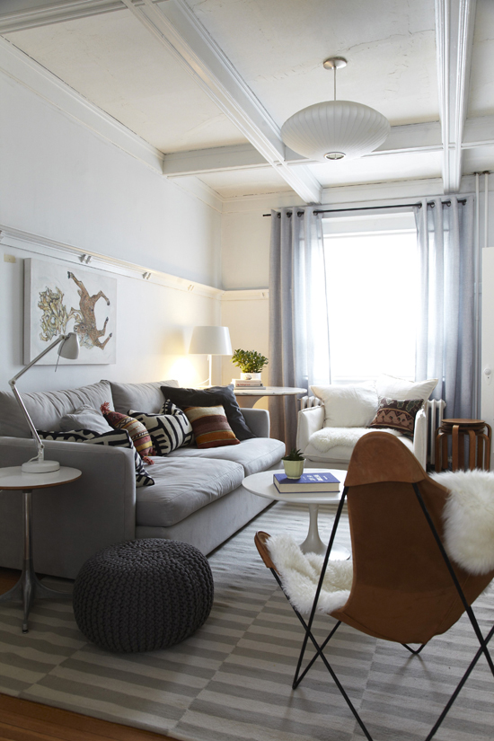The Butterfly Chair  A Great Example Of How To Do Cozy In Jenn Hannotteu0027s  Living
