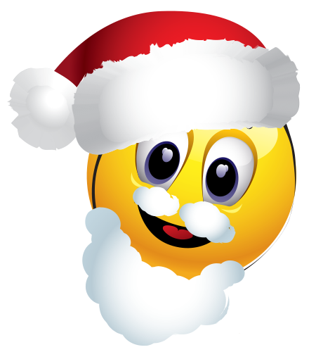 Santa emoticon