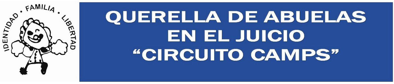 """Querella de Abuelas en el juicio """"Circuito Camps"""""""
