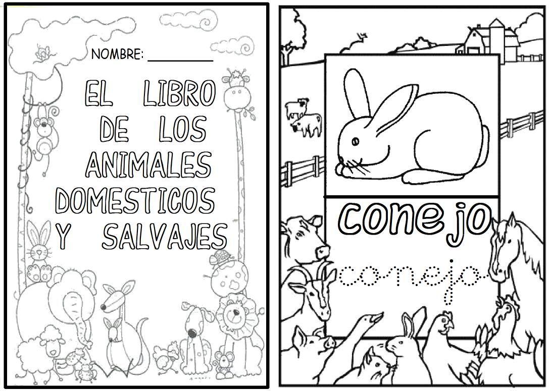 Fantástico Colorear Libro De Animales Embellecimiento - Dibujos Para ...