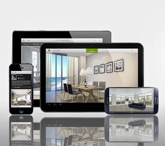 Top 5 android smartphone tablet apps for interior designers helping hand for Best tablet for interior designers