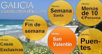 ofertas san valentin noche romantica dia de los enamorados 14 de febrero casas completas en galicia