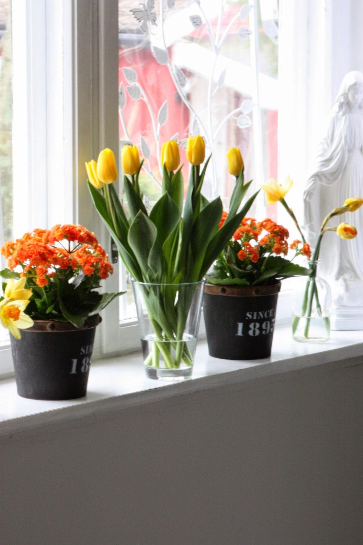 flotte påske blomster