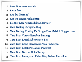 daftar isi,toc,toc blogger,toc blog,toc blogspot,daftar isi blog,daftar isi blogger,daftar isi blogspot,table of content blogger,alphabetical or chronological order TOC,daftar isi berdasarkan abjad,daftar isi abjad,daftar isi bullet list