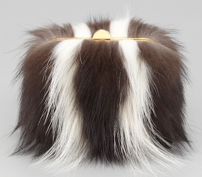 Tom Ford Skunk Fur Minaudiere