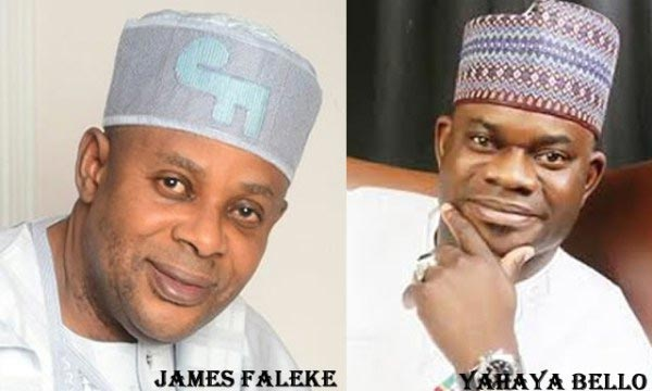 "Check Out Yahaya Bello's Response When Faleke Told Kogi Governor-Elect ""You Have No Voters' Card"""