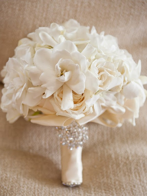 White+gardenia+bouquet
