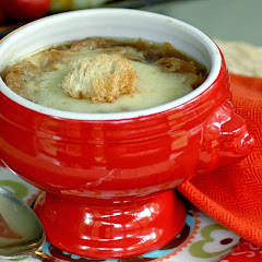 Onion and Fennel Soup Gratin