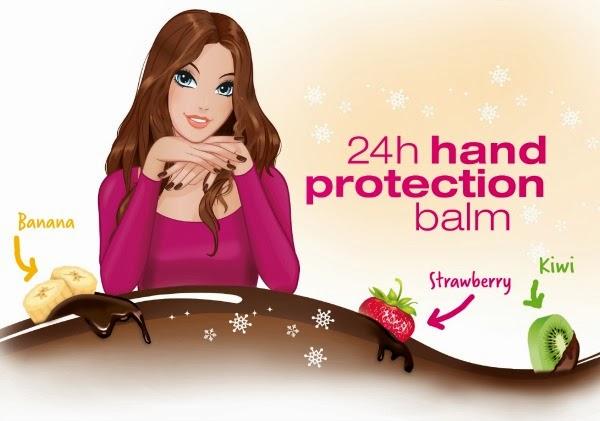 essence 24h hand protection balm – chocolate fondue