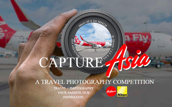 AirAsia and Nikon launch #IamAirAsiaTravelPhotographer Contest