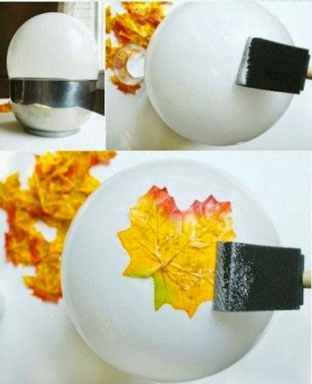 купа от есенни листа
