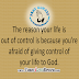 GOD IS IN CONTROL OF YOUR LIFE